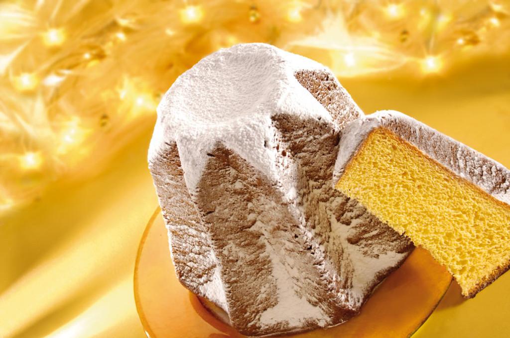 見た目よりふわふわの生地です♡粉砂糖をかけて食べます。