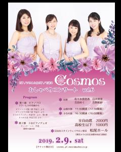 2月9日cosmosコンサートチラシ