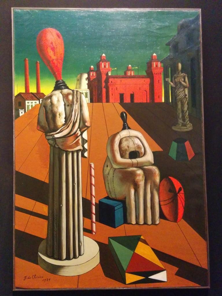 デ・キリコの作品もたくさん間近で見れます!