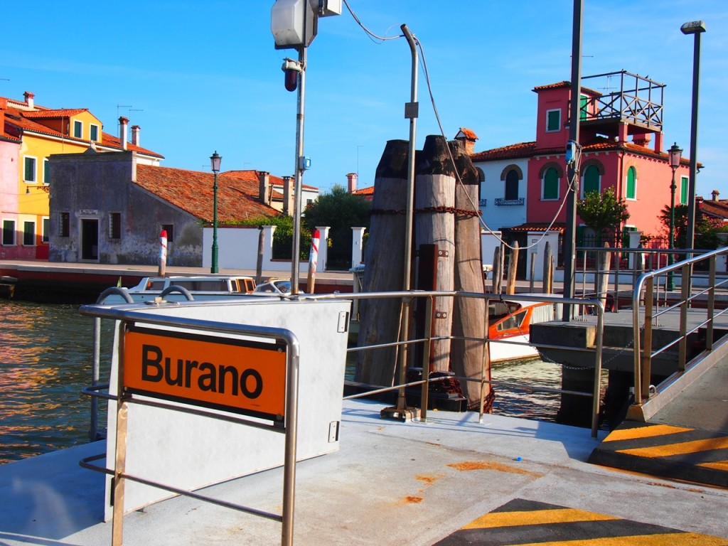 Burano到着