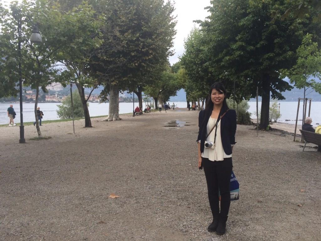 公園にいる人々も静か…はしゃぐと目立つなんてイタリアじゃない