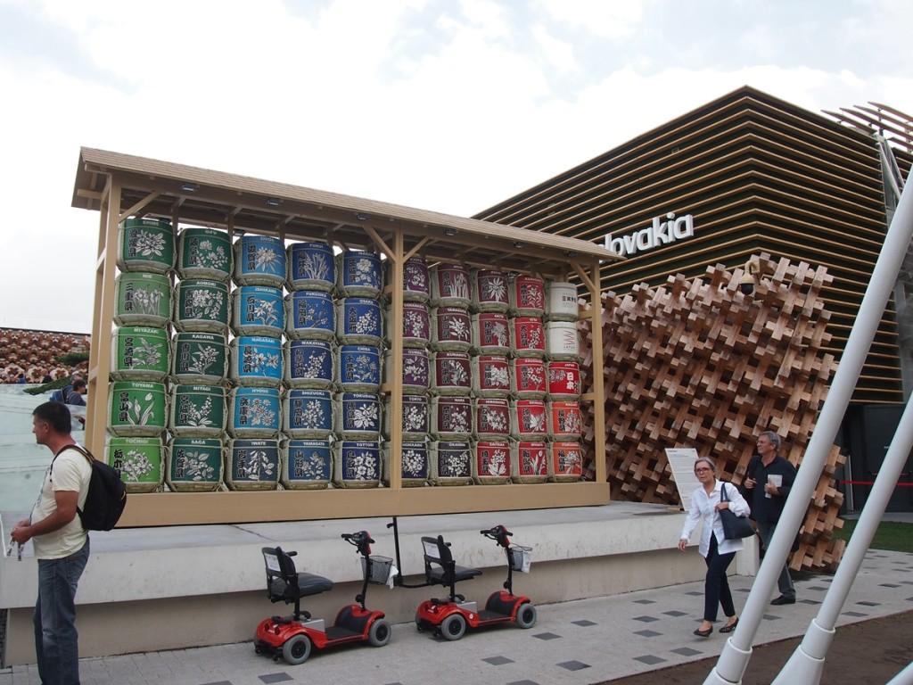大人気の日本館。閉幕後、正式にナンバーワンに選ばれました。